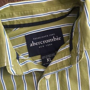 Abercrombie button down xl